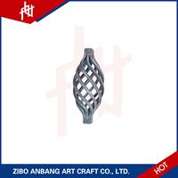 Cast decorative metal wall iron baskets decorative for wedding decoration