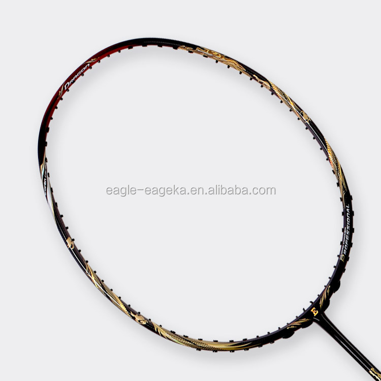 EAGLE brand E 9000 high modulus graphite badminton racket for professional player