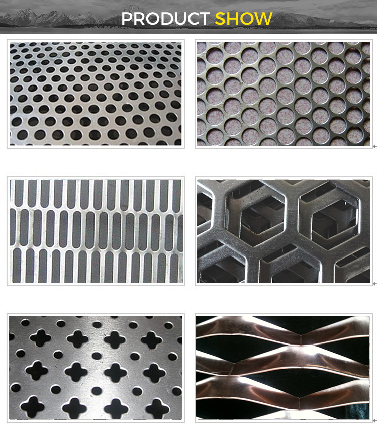 ss201 ss304 ss316 2mm (factory) 4x8 stainless steel hexagon honeycomb mesh decorative perforated sheet metal mesh plate screen