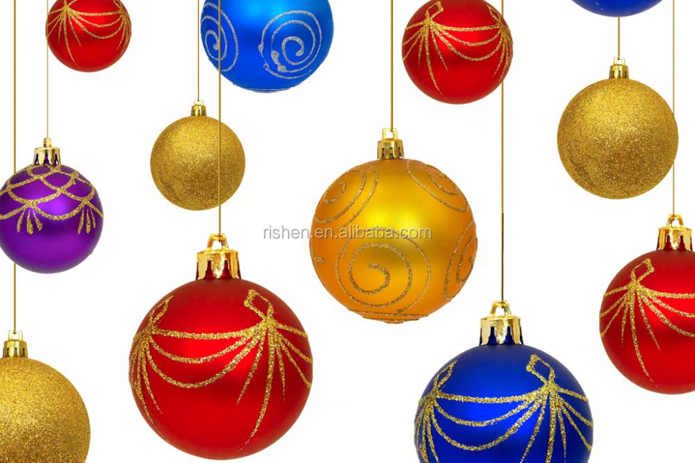 Factory Sale Xmas Tree Home Decorations Pine Cones Baubles