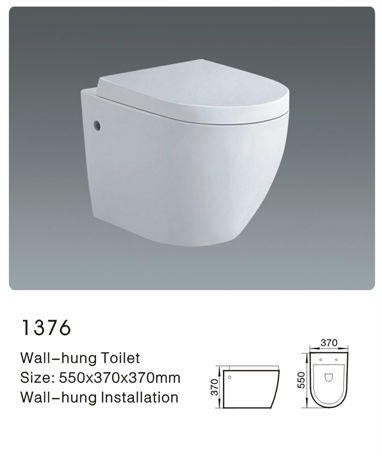 Latest products ceramic sanitary ware bathroom wc washdown wall hung toilet