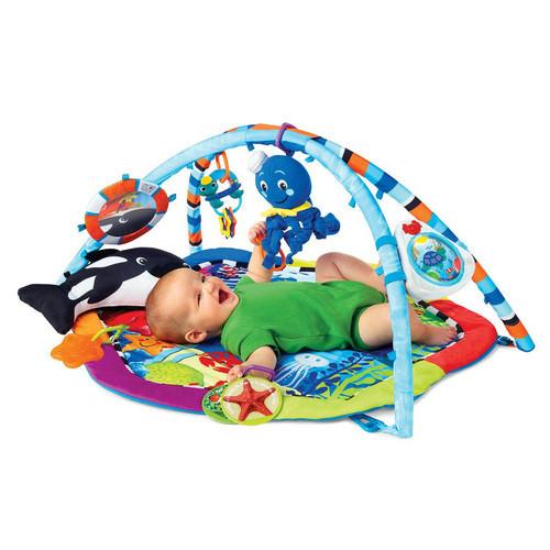 Y Ookidoo Music Play Gym Mat Infant Floor Blanket Children