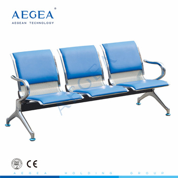 AG-TWC002 hospital chair waiting room stainless steel medical chair