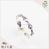 Antique fashion s925 sterling silver open adjustable women ring KR0029