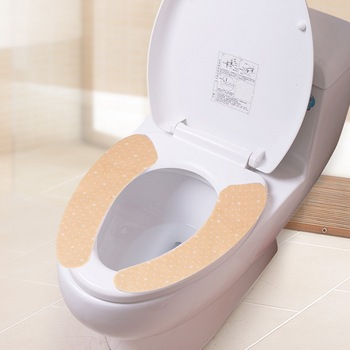 Wegwerp flushable papier toilet seat cover