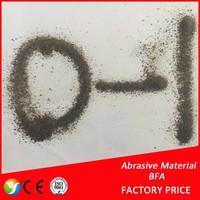85%Al2O3 content secondary BFA / corundum / brown aluminum oxide abrasive