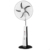 home rechargeable fans cooling with light battery