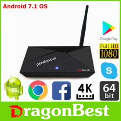 Pendoo TV Box Android TV Box Android 9.0 A5X Max Android TV Box