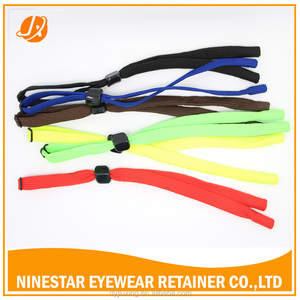 3mm Universal Fit Nylon Rope Eyewear Retainer,sunglasses stretch strap, adjustable eyewear retainer