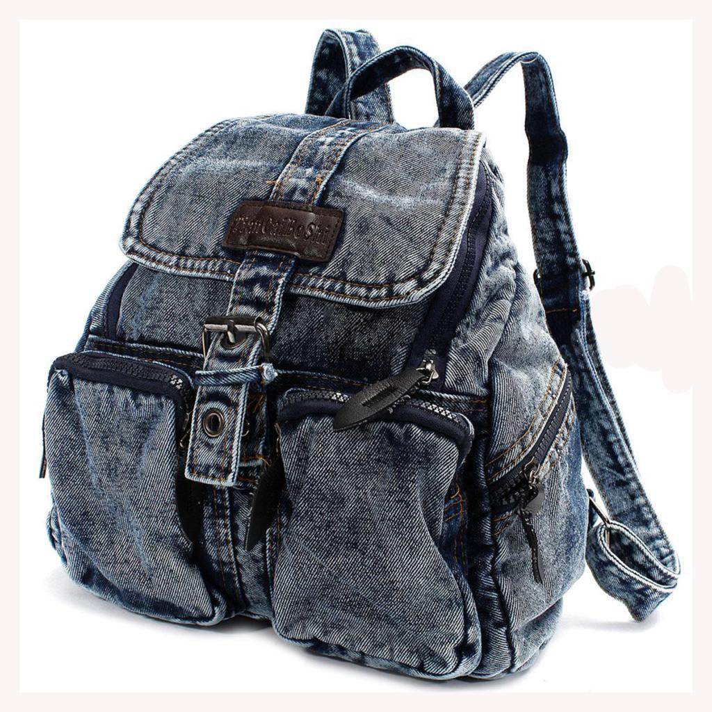 68fdd9aaa18d Vintage Denim Backpack- Fenix Toulouse Handball