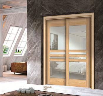 Innen Tür Holz Glastür Design Holz Schiebetür Für Wohnzimmer - Buy ...