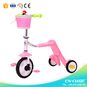 New arrival music kids scooter/flashing wheels child scooter 3 in 1/child scooter
