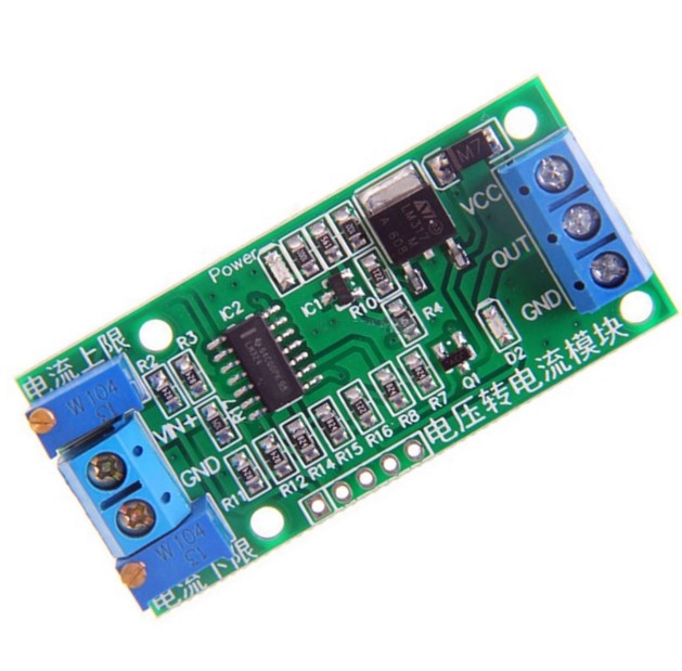 Linear Conversion Voltage to Current Transmitter Signal Module 0-5V to 4-20mA