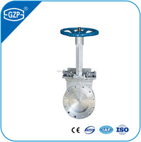 Long lift time flangedType DN100 Knife Gate Valve with wholesale price