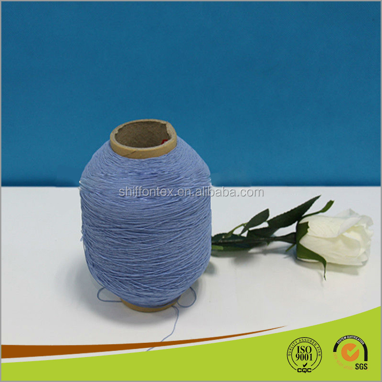 Newest Rubber Covered Yarn for Socks Knitting Machine