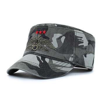 embroidery eagle logo army caps and hats cotton baseball caps men  customized military hats adc11f3640e