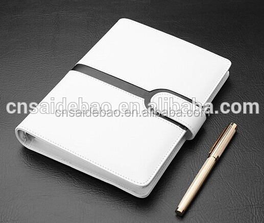 100sheets white paper Meeting Leather Agenda A5 Top Grade Office Agenda Customize Business Agenda