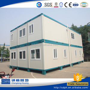 Prefabricated steel frame portable cabins used in middle east especially for infrastructure construction and mining