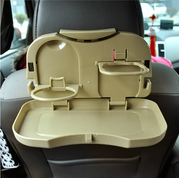 Auto Table Folding Tray Car Seat Car Drink Holder Water