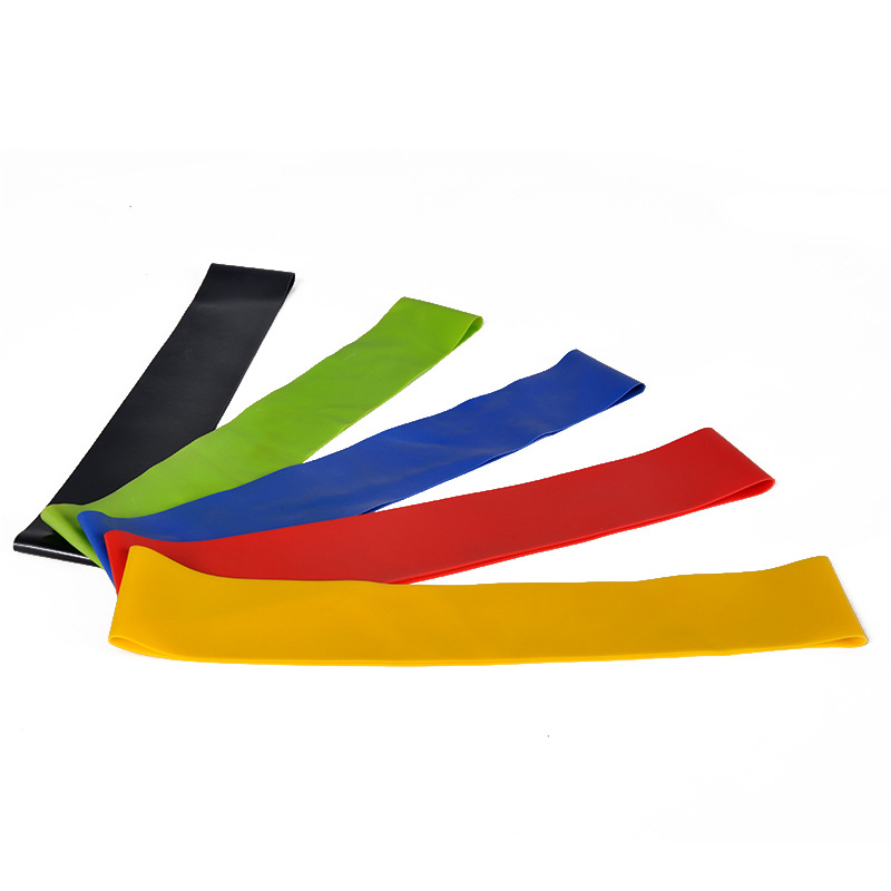 Natuur Latex Elastische mini loop swim training weerstand bands