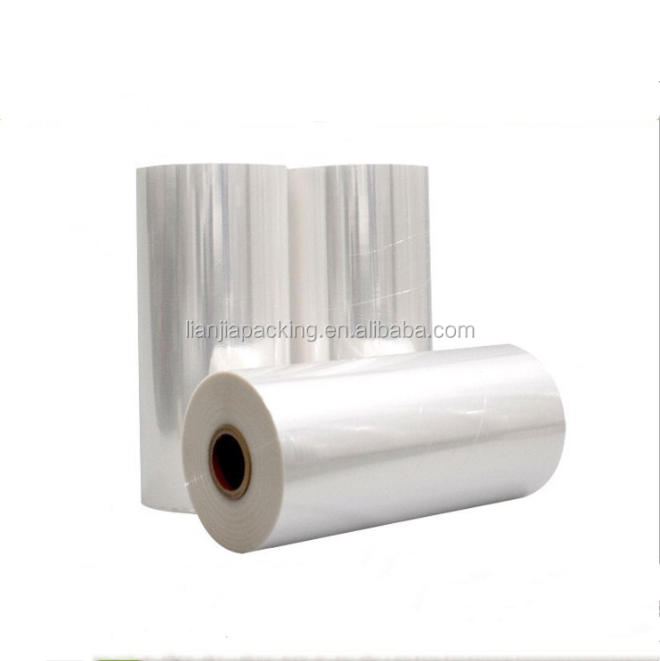 China supplier LIANJIA 5 Layers POF polyolefin Heat Shrink Film With Perforation and Printing