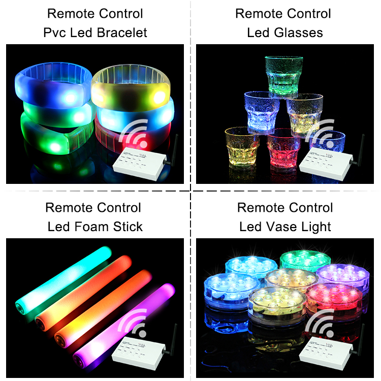 Made In China Wholesale Remote Controlled Led Bracelet