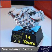 New Designed Custom Souvenir Gift Crystal Business Gift Awards And Trophies