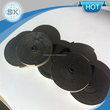 EPDM foam seal strip gasket/ 8*2mm self adhesive sealing strip