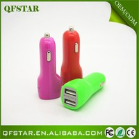 New Arrival usb port 3.1a dual usb port car charger