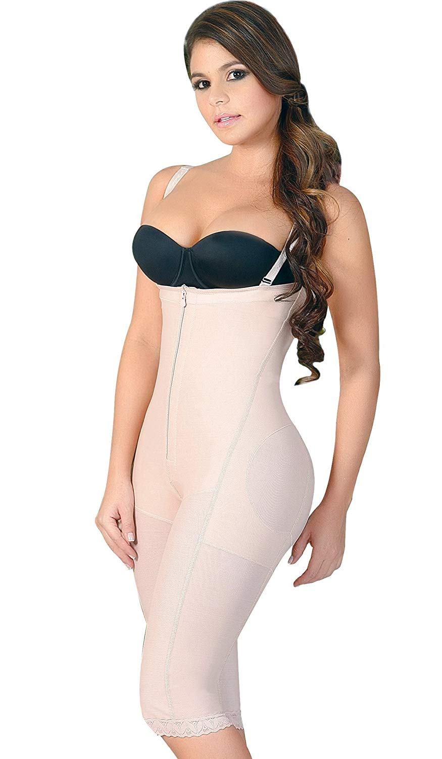 5651205d49 Get Quotations · Salome 0213 Surgery Girdle Body Shaper Fajas Reductoras  Strapless Completas