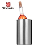 Stainless Steel Ice Cream Bucket 20L For Beach Party