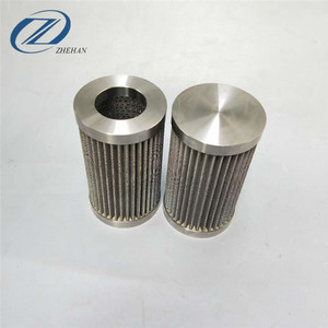 304 316 316L standard interface222/220/226 stainless steel folding filter element