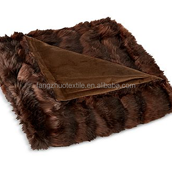 faux fur mink blankets in china