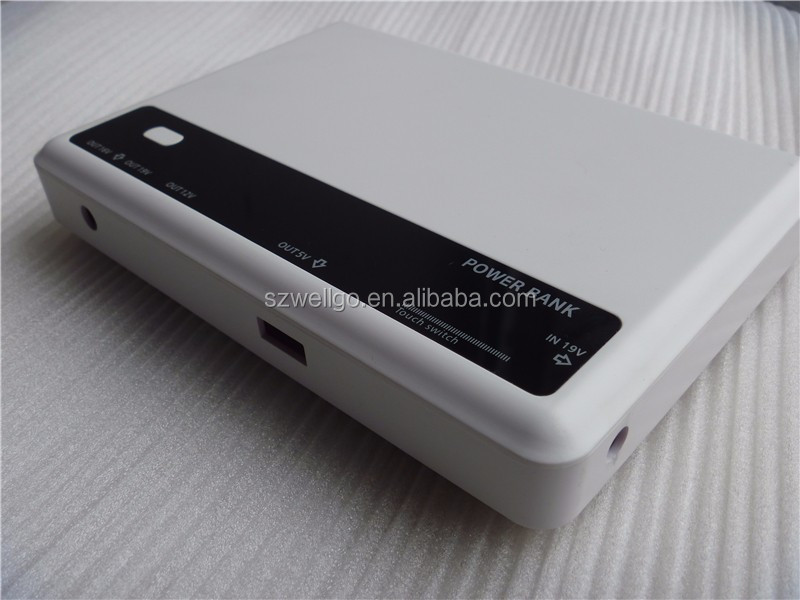 Portable Battery charger laptop power bank Powerbank For Notebook PC laptop with 16V 19V 12V 5V Output