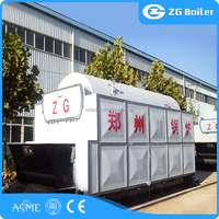 Easy use 2t/h coal fired steam boiler for food making factory