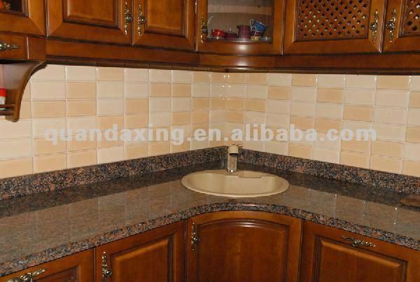 baltic brown granito top per armadio da cucina-controsoffitti ... - Top Cucina Granito Prezzi