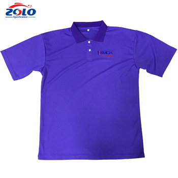 2017 hot sale quick dry sublimation golf clothes