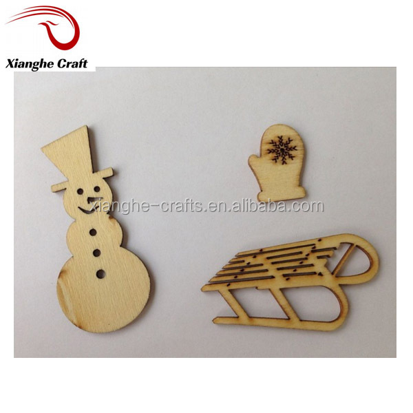 popular design mix sized wooden christmas sleigh for Craft