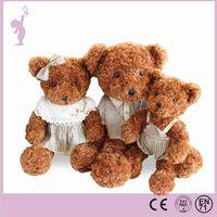 wholesale 45cm sitting plush teddy bear stuffed bear teddy & plush toy bear & teddy bear plush