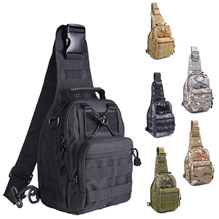 CYSHMILY Trekking Camping Hiking Outdoor Backpack Military Shoulder Waterproof Backpack Rover Sling Pack Tactical Chest Bag