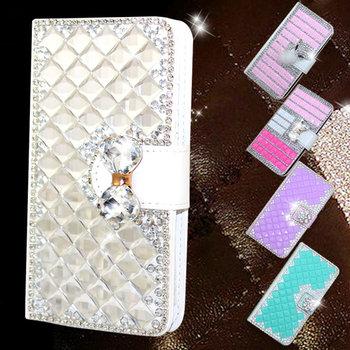 93e20309c Extreme Deluxe Bling Diamante Bow Diamond Crystal Rhinestone Phone Case For iPhone  6 7 Plus 7