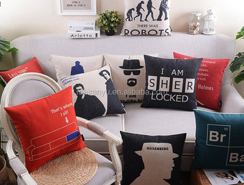 Sofa Chair Cushion Cover Outdoor Linen Custom Cushion Cover 2015 Made In  China