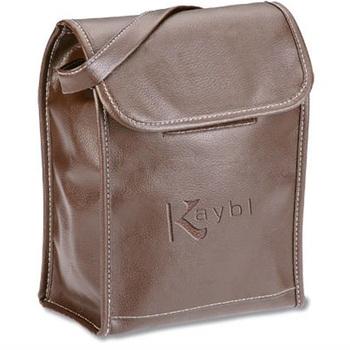 Fashionable Faux Leather Lunch Cooler Bag 4d1e96bac