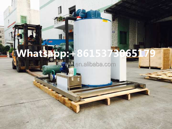 daily capacity 5ton flake ice machine for fish company and ice factory