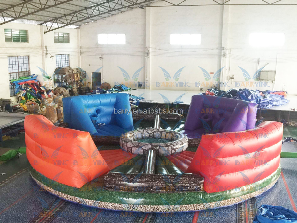 Inflatable Hungry Hippo Game for Christmas Fun, Inflatable bungee run