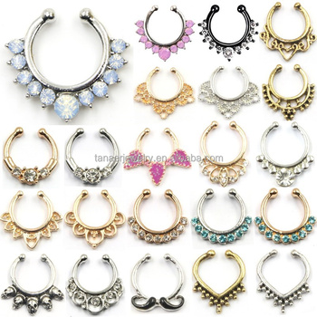 stainless wholesale product free barbell store horseshoe steel rings lip jewellery shipping ring body piercing jewelry ear barbells circular lot