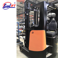 1.6ton 2 ton 6m 6.5m 7m 8m 9m 10m 11m battery seated electric forklift reach truck