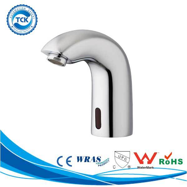 Reliable performance sensor faucet to toilets with built-in bidet