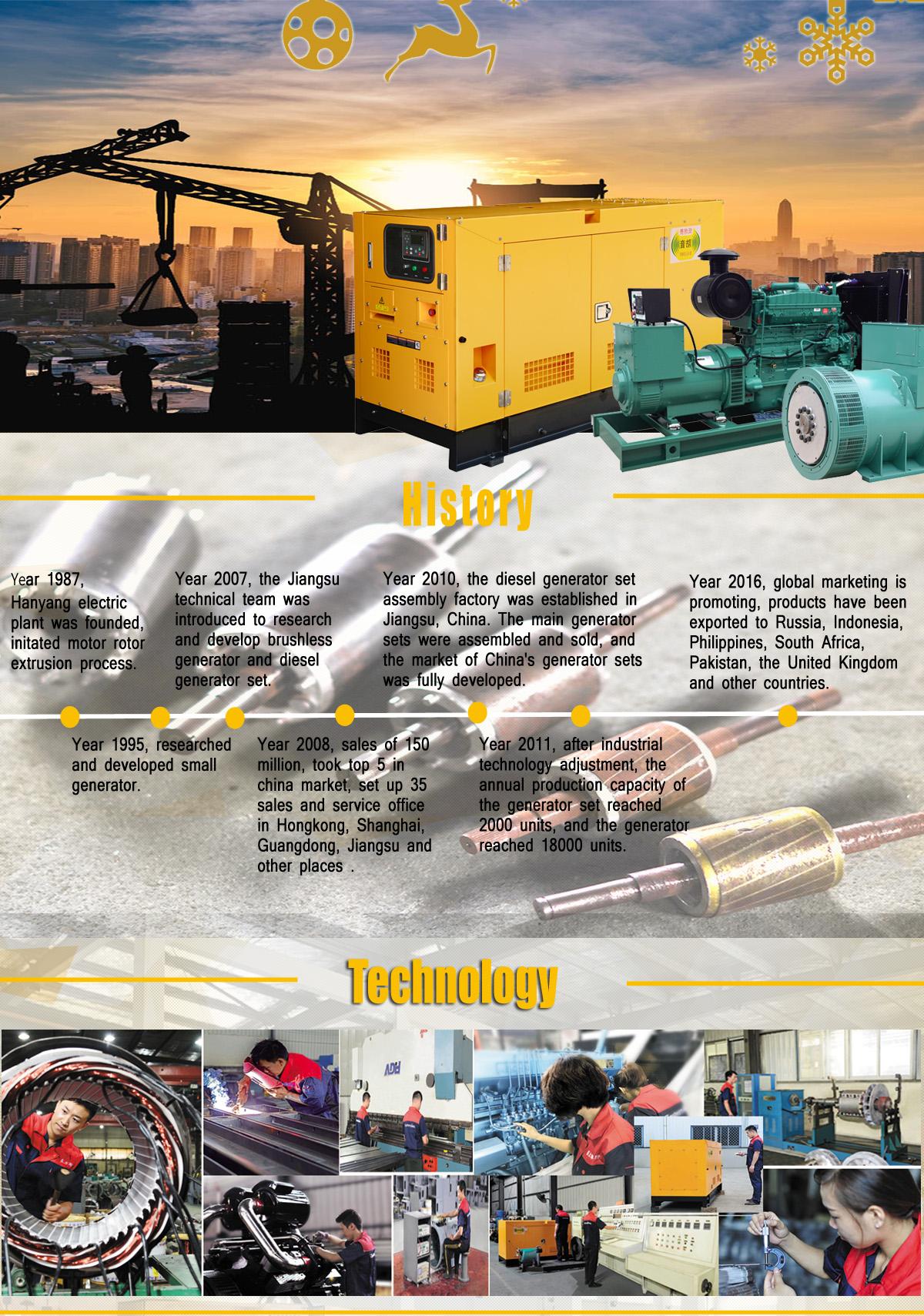 Fuan Eastern Lion Electric Machines Co Ltd Generator Alternator