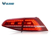 2018 New For VLAND wholesales sequential golf 7 full led rear lights 2013-2017 tail light for VOLKSWAGEN mk7 golf